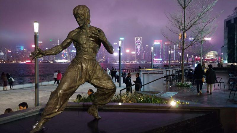 SHUFFLE shines a light on Victoria Harbour in Hong Kong
